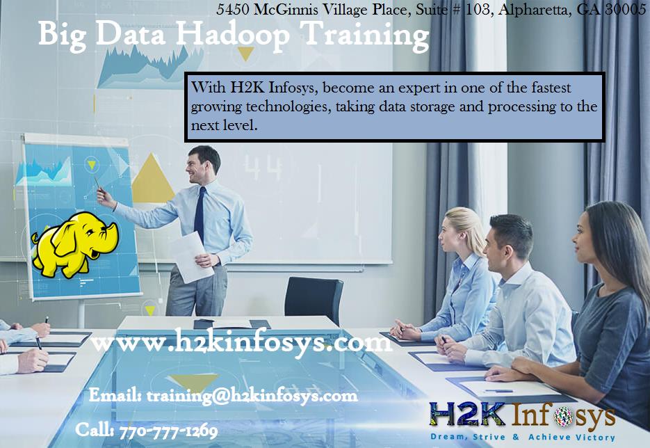 Big Data Hadoop Online Training Classes