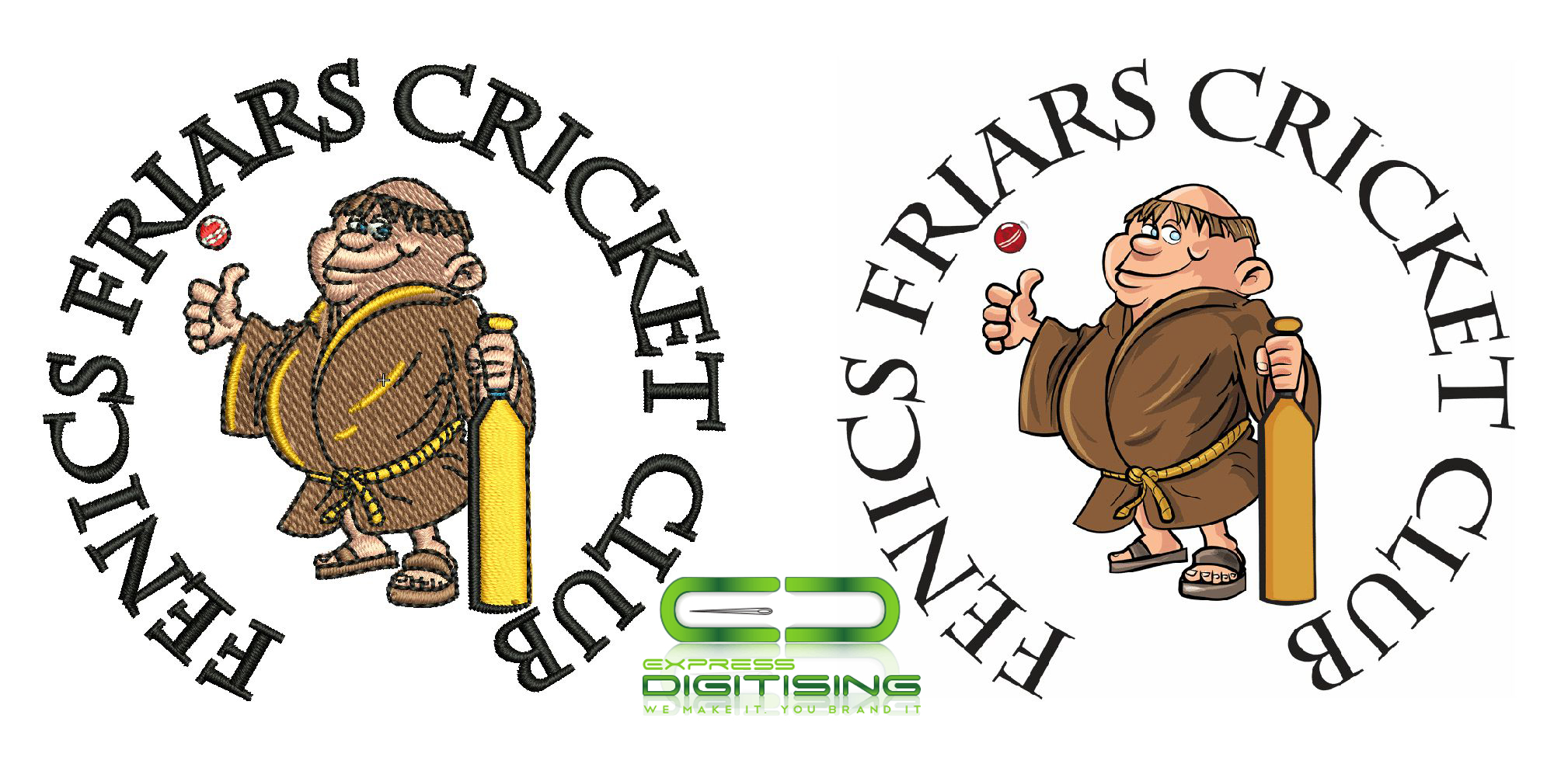Custom Embroidery Digitizing & Embroidery