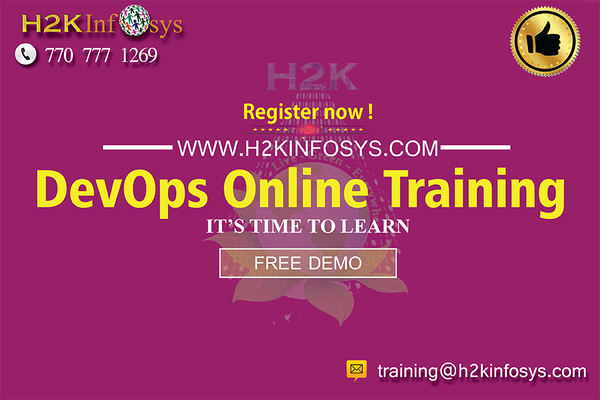 DevOps Online Training By H2KInfosys