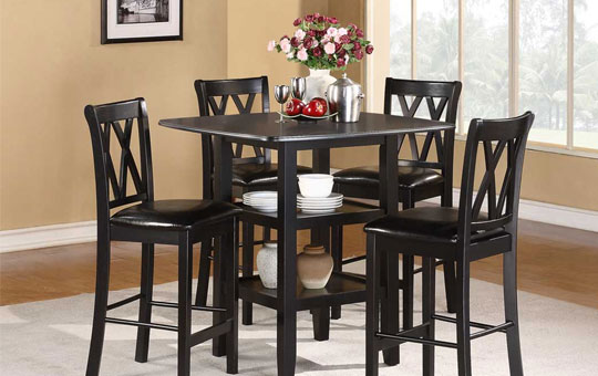5pc new counter height dinette set