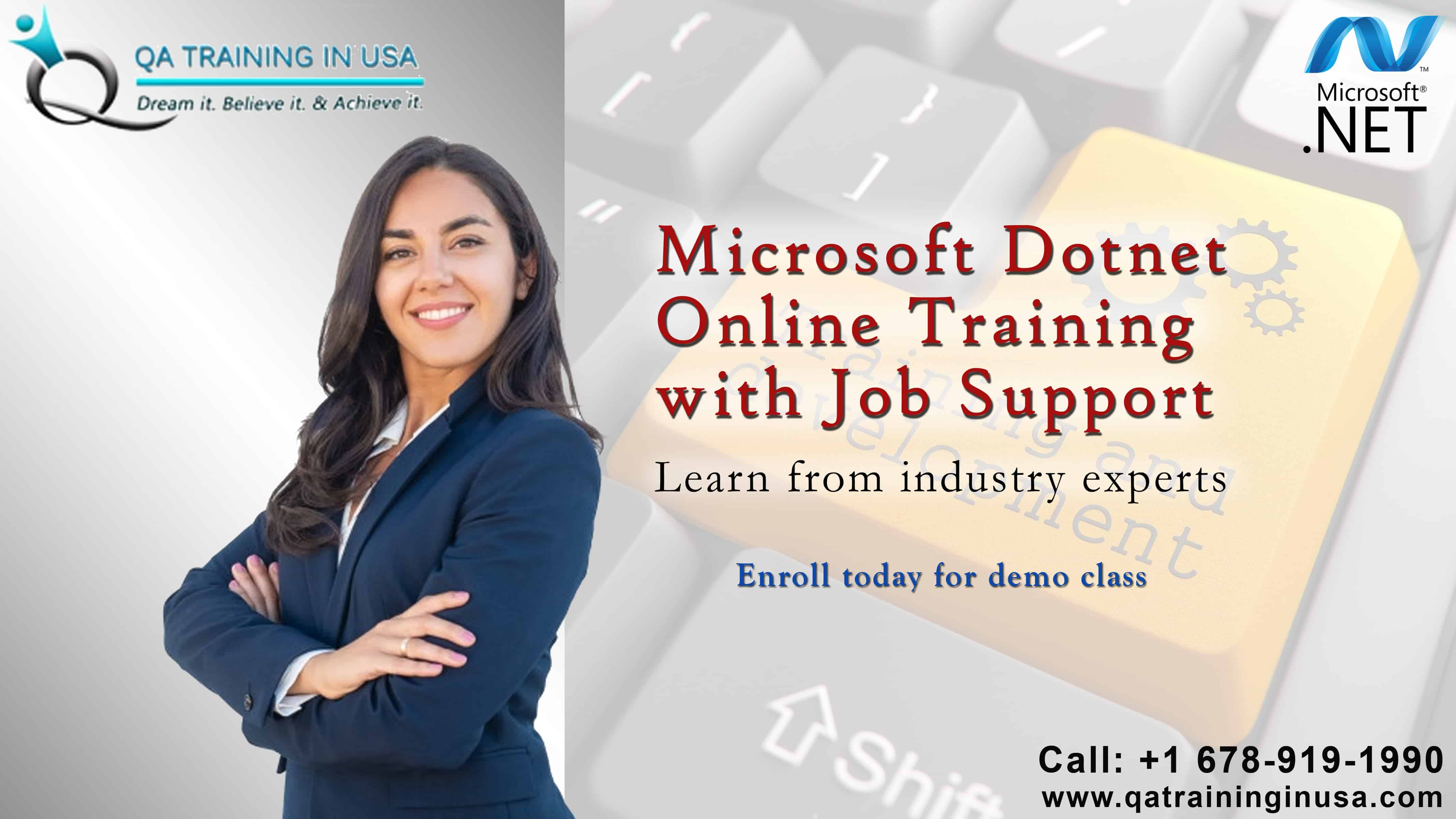 Dotnet  Online Training with Job Support