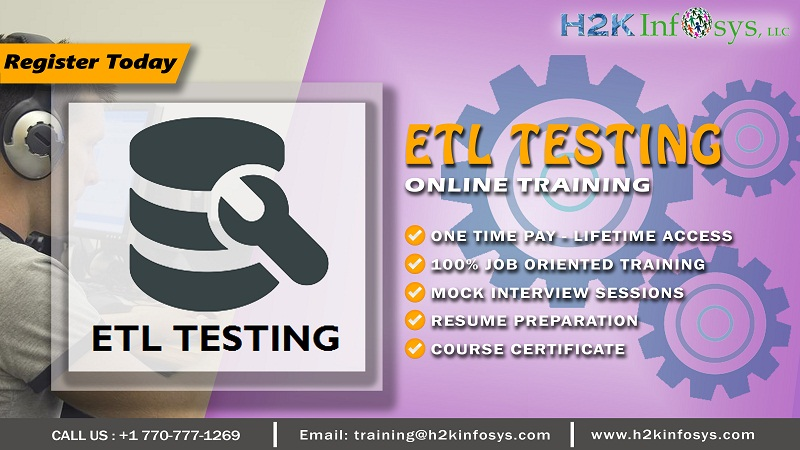 ETL Testing Training for Promising Career