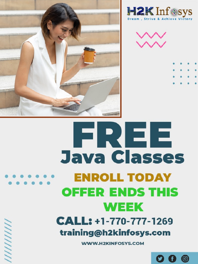 Free Java Classes Online For Beginners