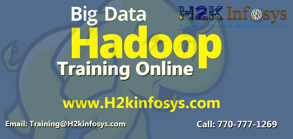 Hadoop Online Training Classes
