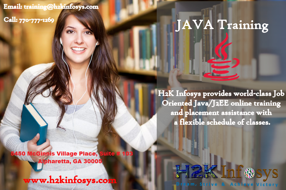 Java Online Training and Job Readiness Assistance