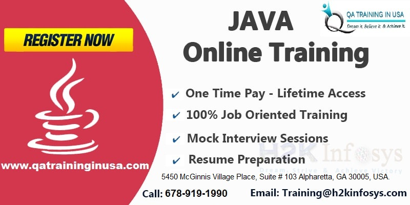 Java Online Training in USA With Job Support