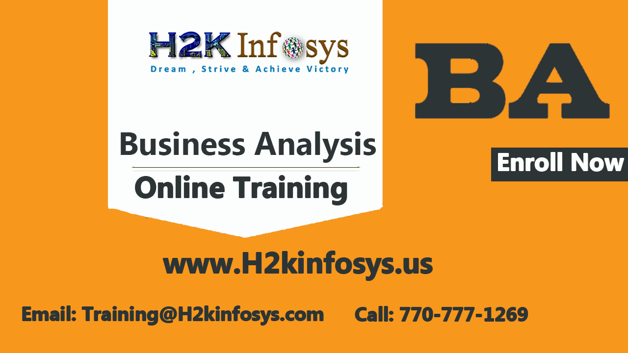 Job Oriented BA Online Training