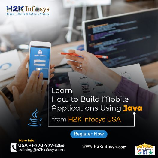 Online Java Training from H2K Infosys USA