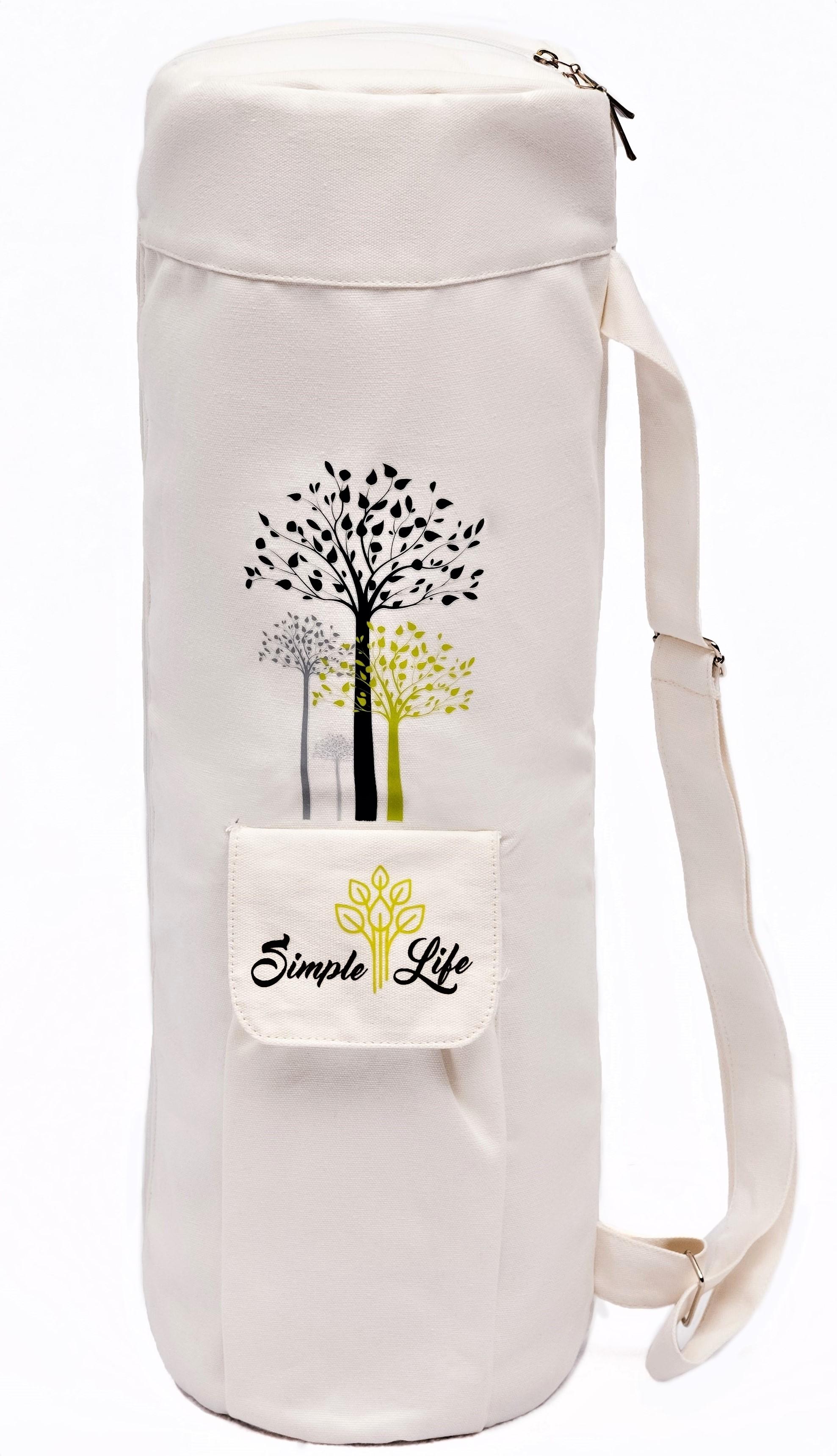 Premium Cotton Yoga Mat Bag