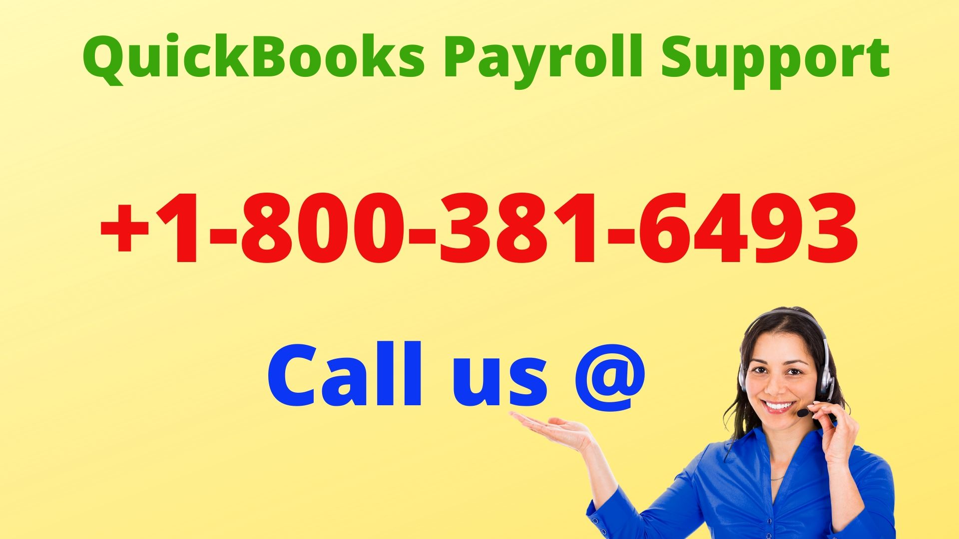 QuickBooks Payroll Support +1-8OO-381-6493