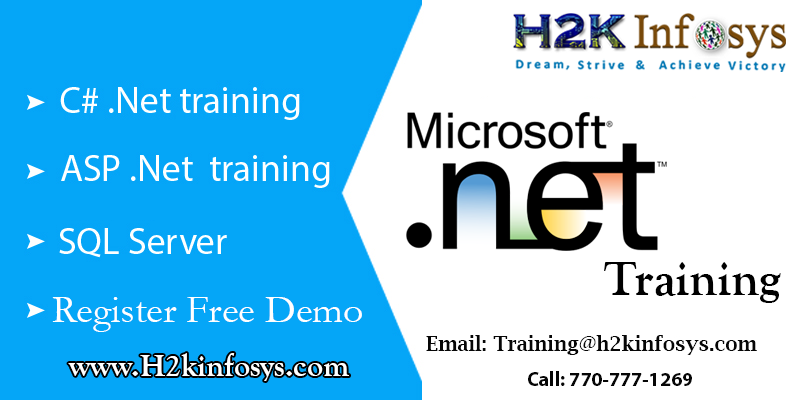 Real Time Project Based .Net Training Course