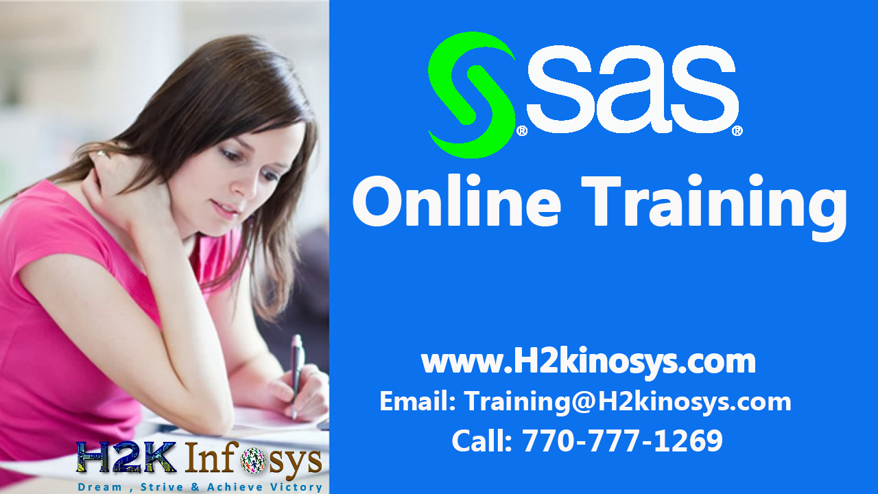 SAS Online Training Classes and Placement Assistan