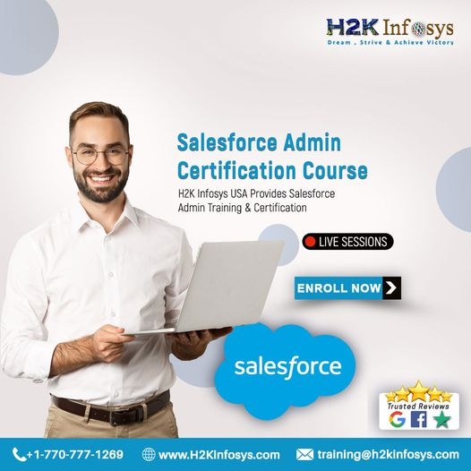 Salesforce Admin Online Training at H2K Infosys