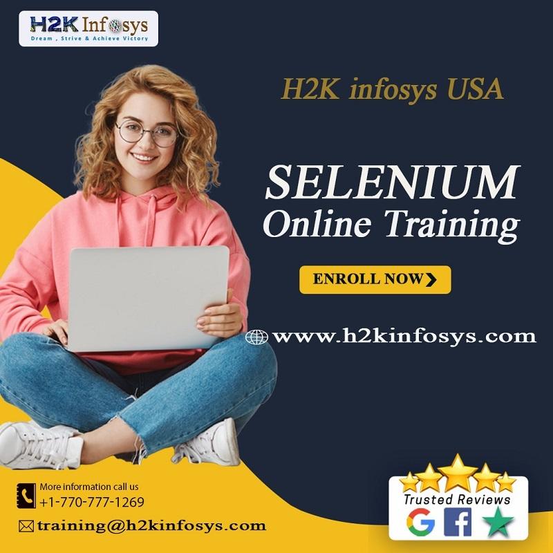 Selenium Certification Training Course at H2k...