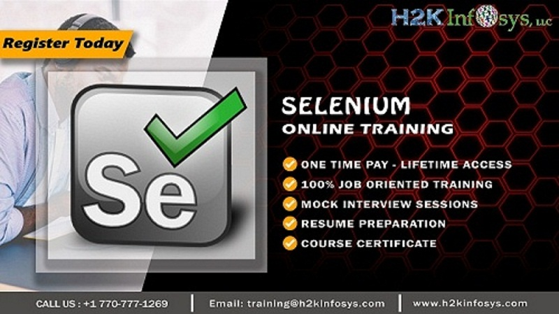 Selenium Training with Placement Assistance