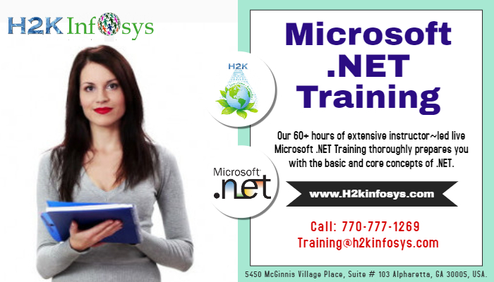 .Net Online Training with Live Projects
