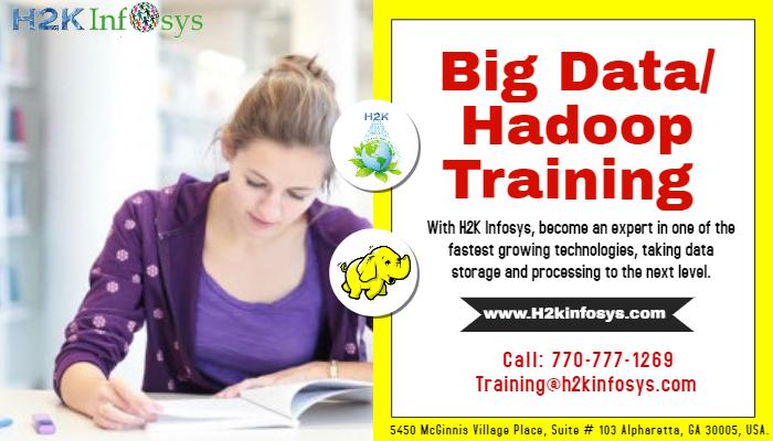 Big Data Hadoop Online Training with Job Support