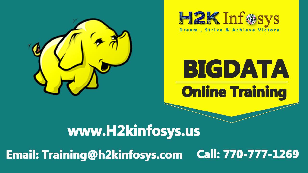 Hadoop Online Training Course in USA