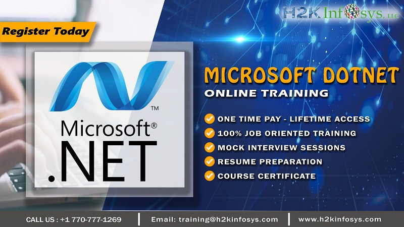 Microsoft DotNet  Online Training by Industry Exp