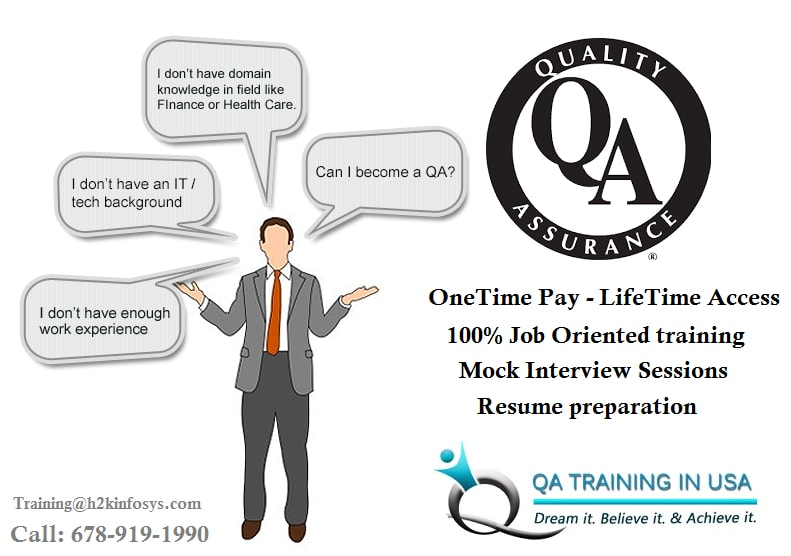 The Best QA Online Training with Job Assistance