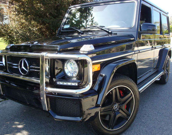 2014 mercedes-benz g63 amg fairly used