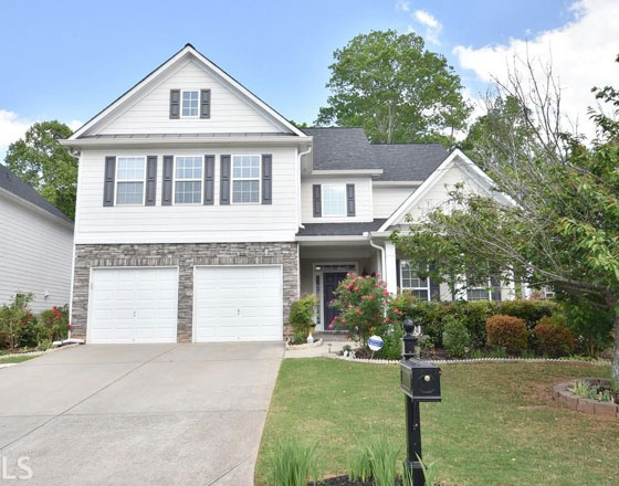 Home for sale in crabapple - milton ga