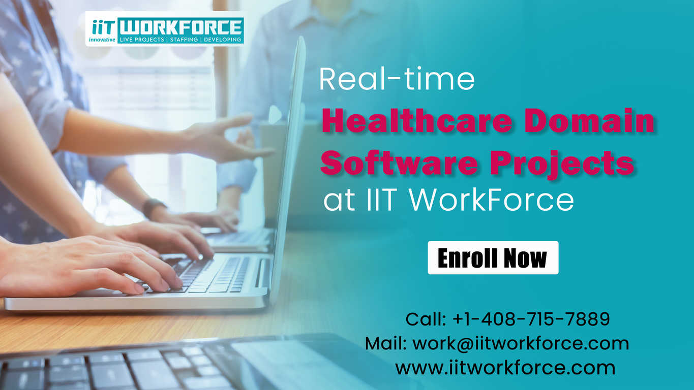 Healthcaredomain software projects at iiTWorkForce