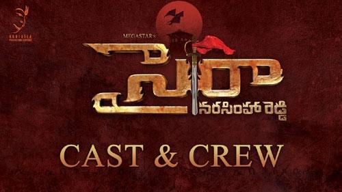 sye raa narasimha reddy cast and crew