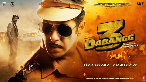 dabangg 3 official trailer