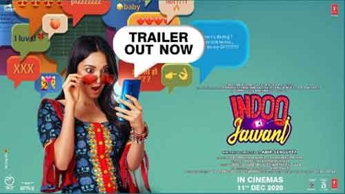 indoo ki jawani official trailer