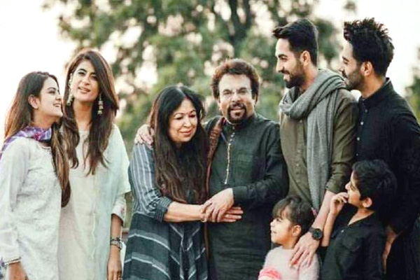 Ayushmann Khurrana Family Members
