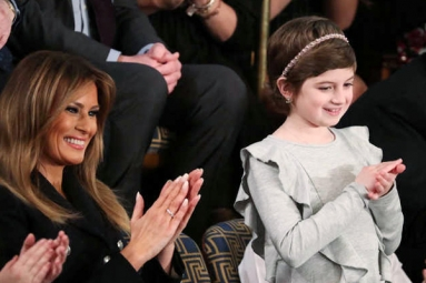 10-Year-Old Cancer Survivor Steals Spotlight at Trump's Union Address