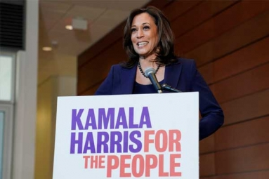 Kamala Harris Raises over USD 23 Million This Year