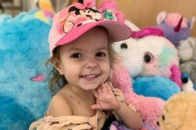 2-Yr-Old Girl in Georgia Diagnosed With Ovarian Cancer, Parents Raising Funds for Toddler