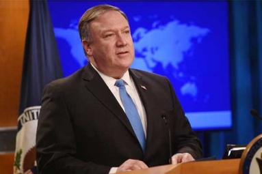 U.S., India to Talk Strategic Items During 2+2 Dialogue: Pompeo