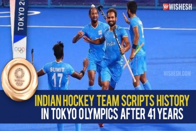 After Four Decades, the Indian Hockey Team Wins an Olympic Medal