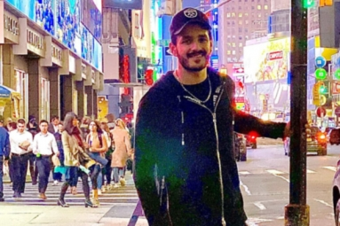 Akhil Busy Shooting in New York