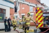 Man Suffered life-threatening injuries in the house fire