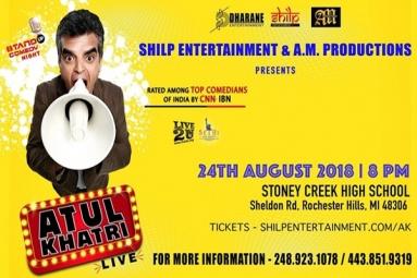 Atul Khatri Live - Stand Up Comedy Night