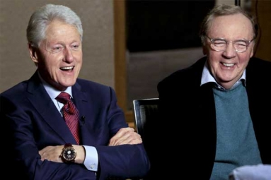 Bill Clinton Teams Up with Author James Patterson for a Thriller Novel