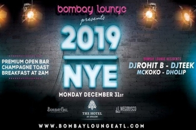Bombay Lounge: New Years Eve 2019