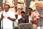 A Teaser of Federal Front Released In the Oath Taking Ceremony of Kumara Swamy