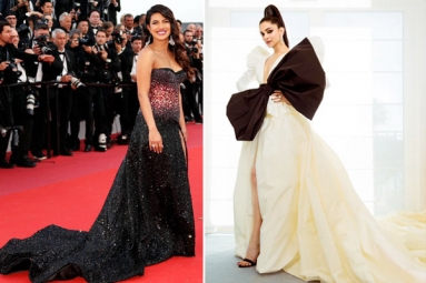 In Pictures: Deepika Padukone, Priyanka Chopra, Kangana Ranaut, Hina Khan Make Striking Appearances at Cannes Film Festival
