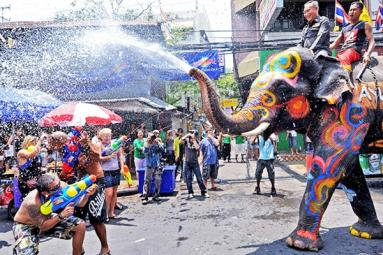 Amazing facts about Holi in Thailand
