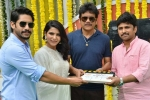 Chaitu, Samantha's Next Launched