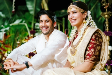 Chaitu and Sam ties Knot