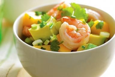Sweet & salty Crab and Mango Salad!