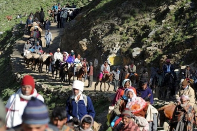 J&K Govt. Issues Advisory to Amarnath Yatra Pilgrims to Curtail Their Stay