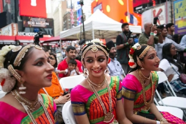 One can't take Diwali out of Indians - even when they're in U.S.