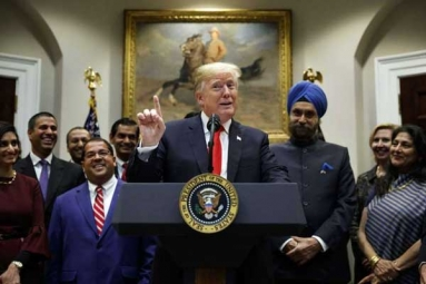 "Donald Trump - ""India Best Trade Negotiators"""